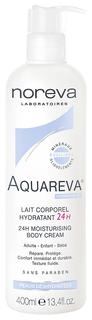 Молочко для тела Noreva Lait Aquareva Corporel Hydratant 24H Увлажняющие 400 мл