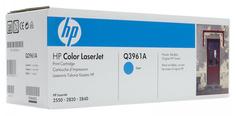Картридж HP Q3961A для LaserJet 2550 2820 2840 голубой