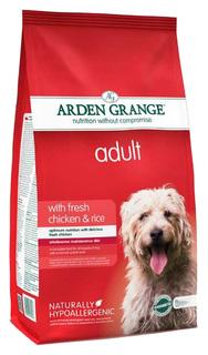Сухой корм для собак Arden Grange Adult Large Breed, курица, рис, 15кг