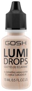 Хайлайтер Gosh Lumi Drops 002 Vanilla 15 мл