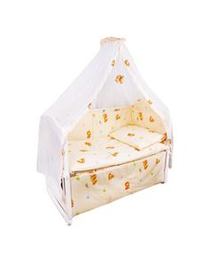 Комплект детского постельного белья Крошкин дом Тики Там Розовый
