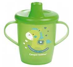 Чашка-непроливайка Canpol Babies Toys, 250 мл, 31/200 Зеленый
