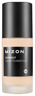 Тональный крем Mizon Correct Liquid Foundation 25 Dark Beige 30 мл