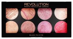 Наборы для макияжа MAKEUP REVOLUTION Blush Palette Queen 13 г