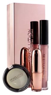 Наборы для макияжа Makeup Revolution Luxe Shade Blocks 2017 Rose Gold Set