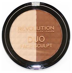 Наборы для макияжа MAKEUP REVOLUTION Duo Face Sculpt 15 г