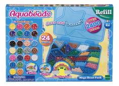 Большой Набор ювелирных и жемчужных бусин Мега с палитрой Aqua Beads 79638 Aquabeads