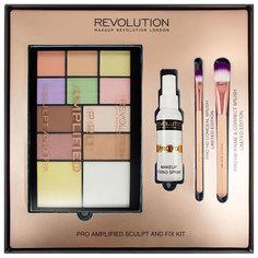 Набор для макияжа Makeup Revolution Amplified Sculpt & Fix