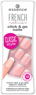 Накладные ногти Essence French Manicure Click&Go Nails 01 French 12 шт