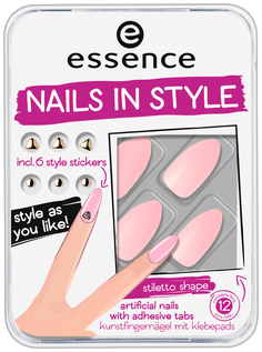 Накладные ногти Essence Nails In Style 03 Pink Is Perfect 12 шт