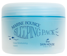 Маска для лица The Skin House Marine Bounce Sleeping Pack 100 мл