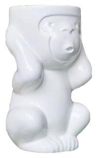 Горшок цветочный Экочеловеки 2003 Белый