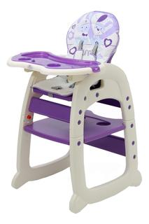 Стульчик для кормления Тополь Polini 460 фиолетовый