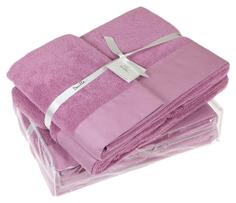 Банное полотенце, полотенце универсальное Devilla senses фиолетовый