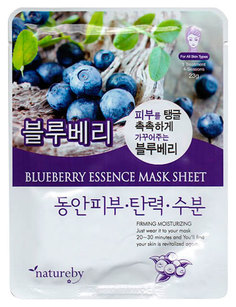 Маска для лица Natureby Blueberry Essence 23 мл