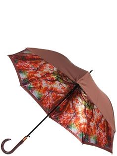 Зонт-трость автомат Eleganzza T-06-0351D оранжевый