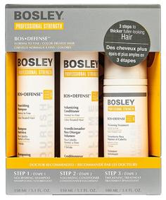 Набор средств для волос Bosley BosDefense Желтая система