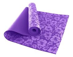 Коврик для йоги Hawk HKEM113-04 фиолетовый 4 мм
