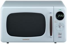 Микроволновая печь соло Daewoo KOR-669RLN blue