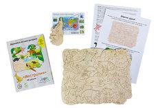 Деревянная мозаика-раскраска МУМ австралия