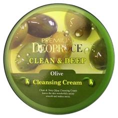 Средство для очищения Deoproce Premium Clean & Deep Olive Cleansing Cream 300 г