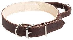 Ошейник для собак Gripalle Портер 35-50S Коричневый