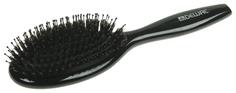 Расческа Dewal Black Деревянная с комбинированной щетиной BRWT62