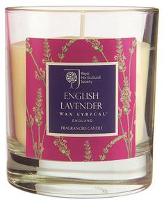 Свеча ароматическая Цветущая лаванда Wax Lyrical RH5210 Белый