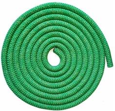 Скакалка гимнастическая Jabb AB251 зеленая 300 см