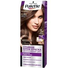 Краска для волос Palette 6-280 Темно-русый металлик 110 мл