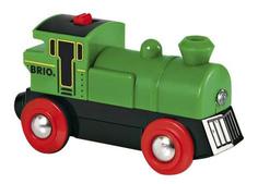 Паровоз деревянной железной дороги на батарейках Brio 33595