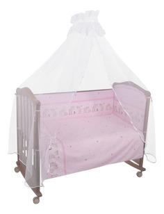 Комплект детского постельного белья Тайна Снов Оленята 3 предмета розовый