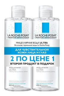 Набор косметики La Roche-Posay Ultra Мицеллярная вода для чувствительной кожи 2х400 мл