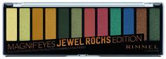 Тени для век Rimmel Magnifeyes Jewel Rocks Edition Eye Contouring Palette 14,2 г
