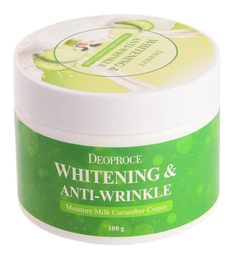 Крем для лица Deoproce Moisture Milk Cucumber Cream 100 г