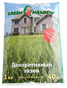 Семена Газон СТАНДАРТ Декоративный для глинистых почв, 1 кг Зеленый ковер