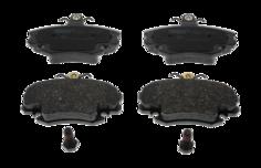 Тормозные колодки дисковые Bosch 0 986 487 715