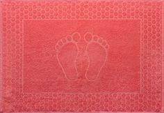 Полотенце для ног Текс-Дизайн красный