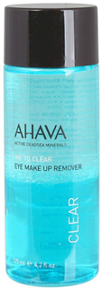 Двухфазная жидкость для снятия макияжа Ahava Time To Clear Eye Makeup Remover 125 мл
