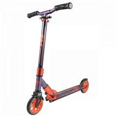 Самокат Tech Team 145 Comfort фиолетово-оранжевый