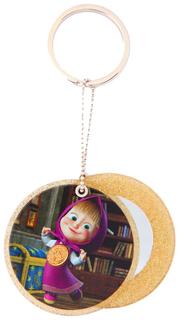 Сувенир-брелок с зеркальцем E-Best Digiprint Ltd. Маша и Медведь Маша СМ104