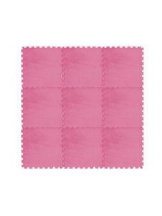 Коврик развивающий Meitoku MD01-1 розово-красный 9 деталей