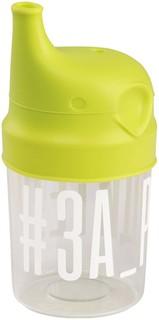 Поильник Happy Baby Стакан с насадкой-поильником Lime