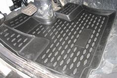 Коврики в салон Element для HYUNDAI HD-120 1999, 2 шт. полиуретан