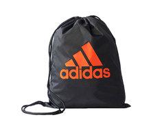 Мешок для обуви Adidas Performance Logo черно-оранжевый