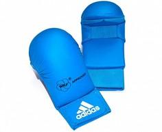 Накладки для карате Adidas WKF Bigger синие XS