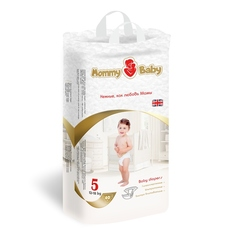 Подгузники детские одноразовые Mommy Baby (размер 5), 12-18 кг, 40 шт.