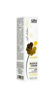 Краска для волос Shot Bleach&Color Yellow 80 мл