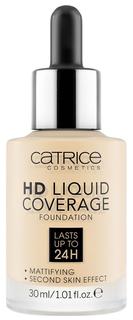 Основа для макияжа Catrice HD Liquid Coverage Foundation 002 Porcelain Beige 30 мл