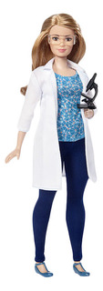 Кукла Barbie Ученый с микроскопом